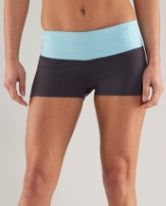Love fitted shorts! Make working out so comfortable. No wedgies ;)