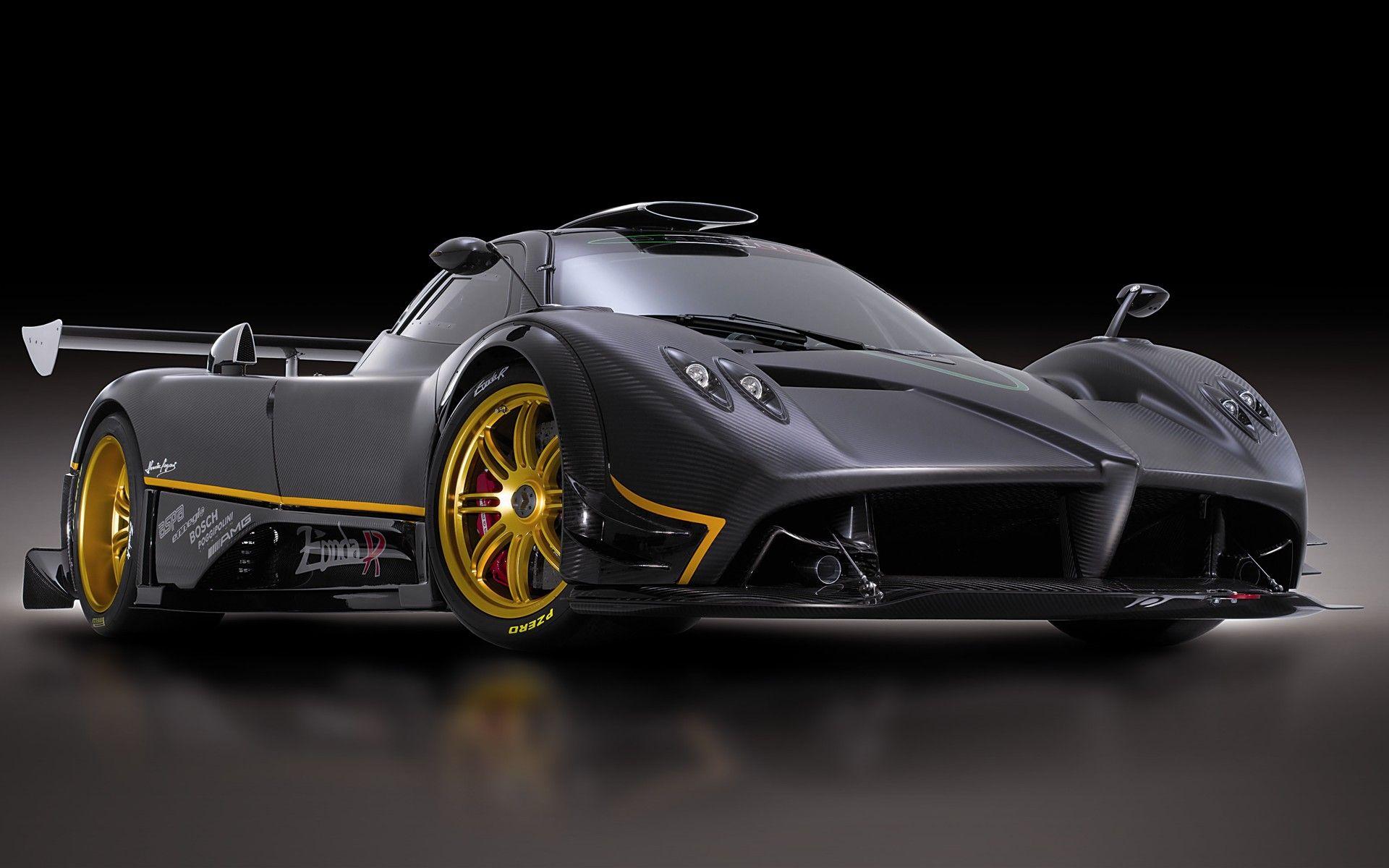 Awesome sports cars pagani black car sports cars super