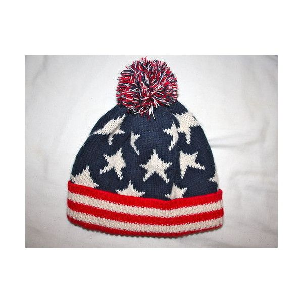 American Flag Go Usa Patriotic Proud To Be American Knit Beanie Hat Knit Beanie Hat Patriotic Hats Beanie Hats