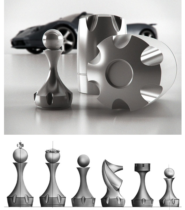 King And Queen On The Chess Board Chess Board Chess Game Chess Pieces