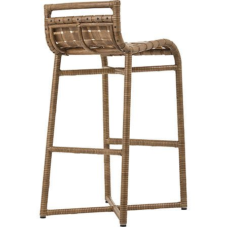 McGuire Furniture: Steven Volpe Crin Counter Stool: No. O-532 ...