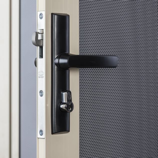 Security screen doors and windows are world class quality for Double door screen door