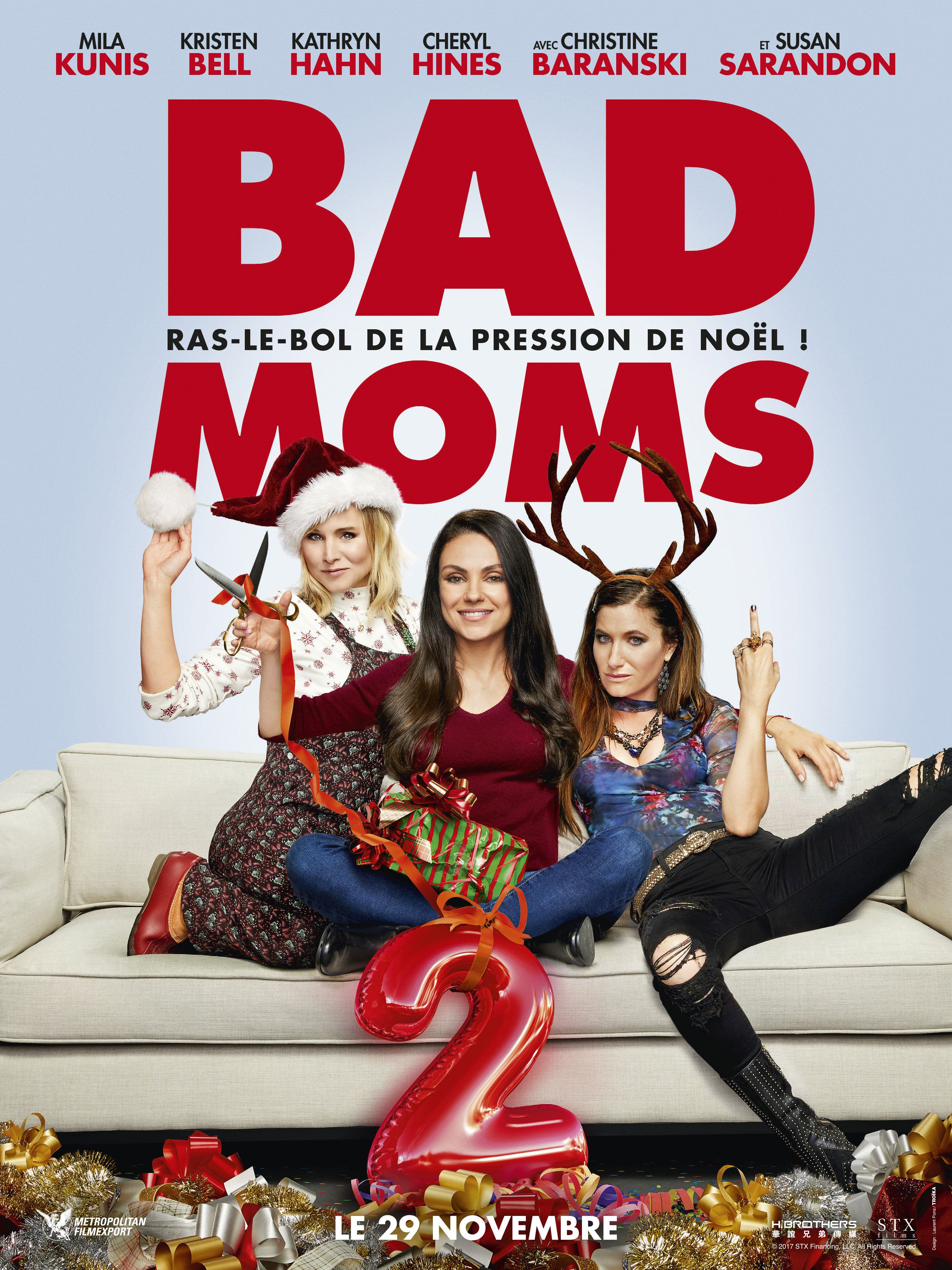 Bad Moms 2 Jon Lucas Scott Moore 2017 Movies Christmas