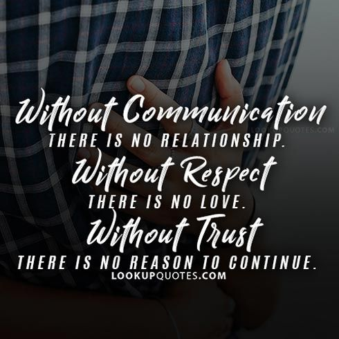 Http Www Lookupquotes Com Picture Quotes Without Communication There Is No Relationshi Christian Quotes About Life Respect Quotes Respect Relationship Quotes