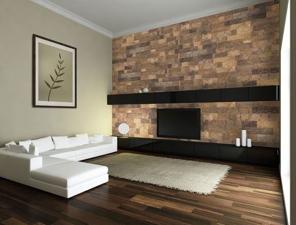 living rooms bamboo innovations cork wall tiles acoustical dampening