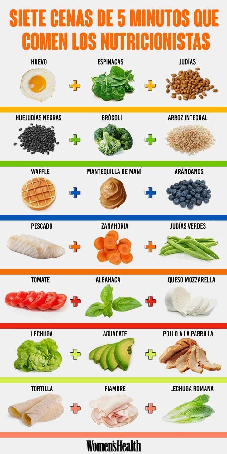 Lo Que Comen Los Nutricionistas Cuando Tienen S Lo 5 Minutos
