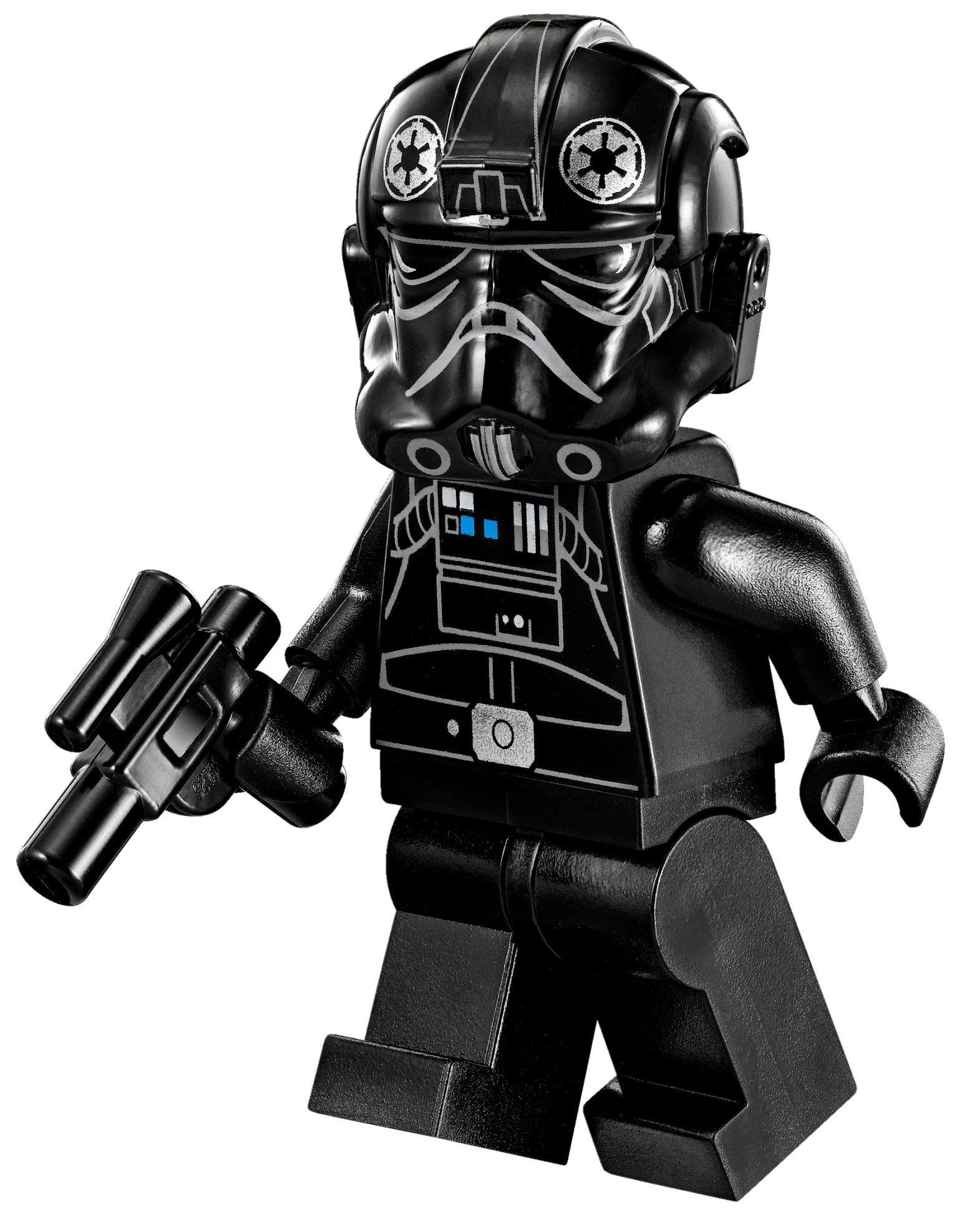 LEGO 75082 STAR WARS Rebels TIE Advanced Prototype Fighter Pilot Minifigure