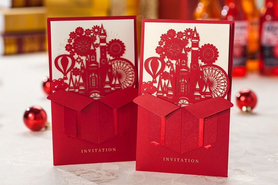 New Wedding Decoration 50PCS City travel around box Wedding ...