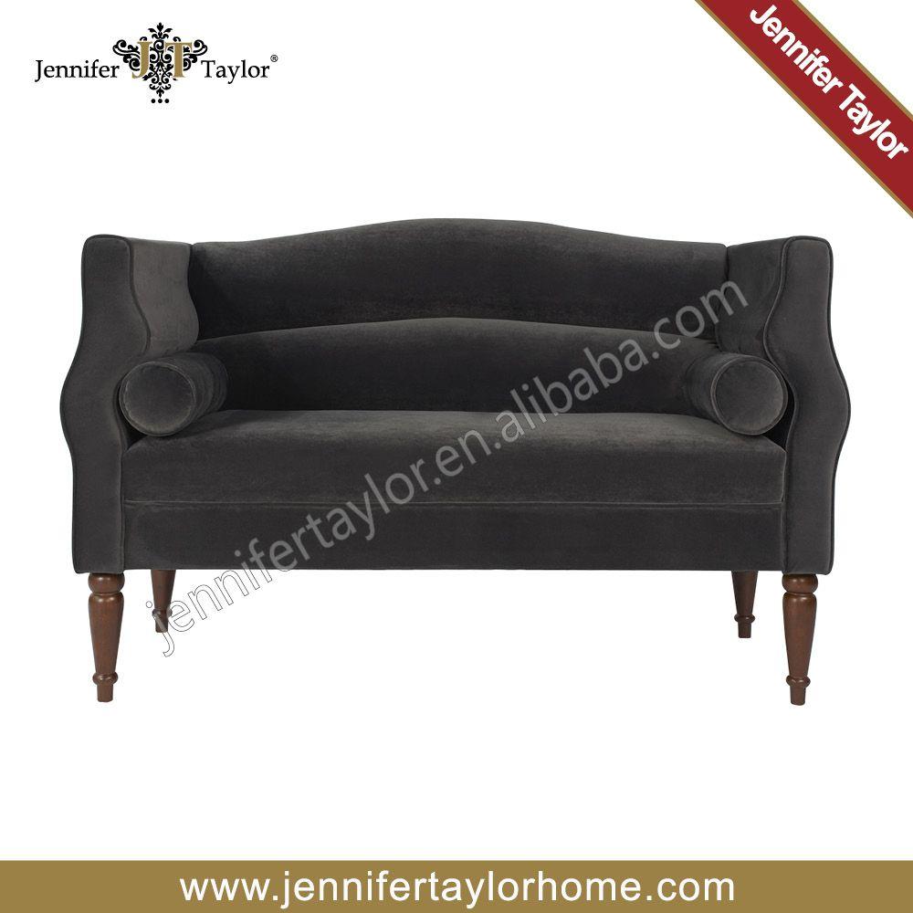 Star Hotel Room Modern Lounge Settee  Long Sofa Chair  Fabric - Cheap sofa and chair
