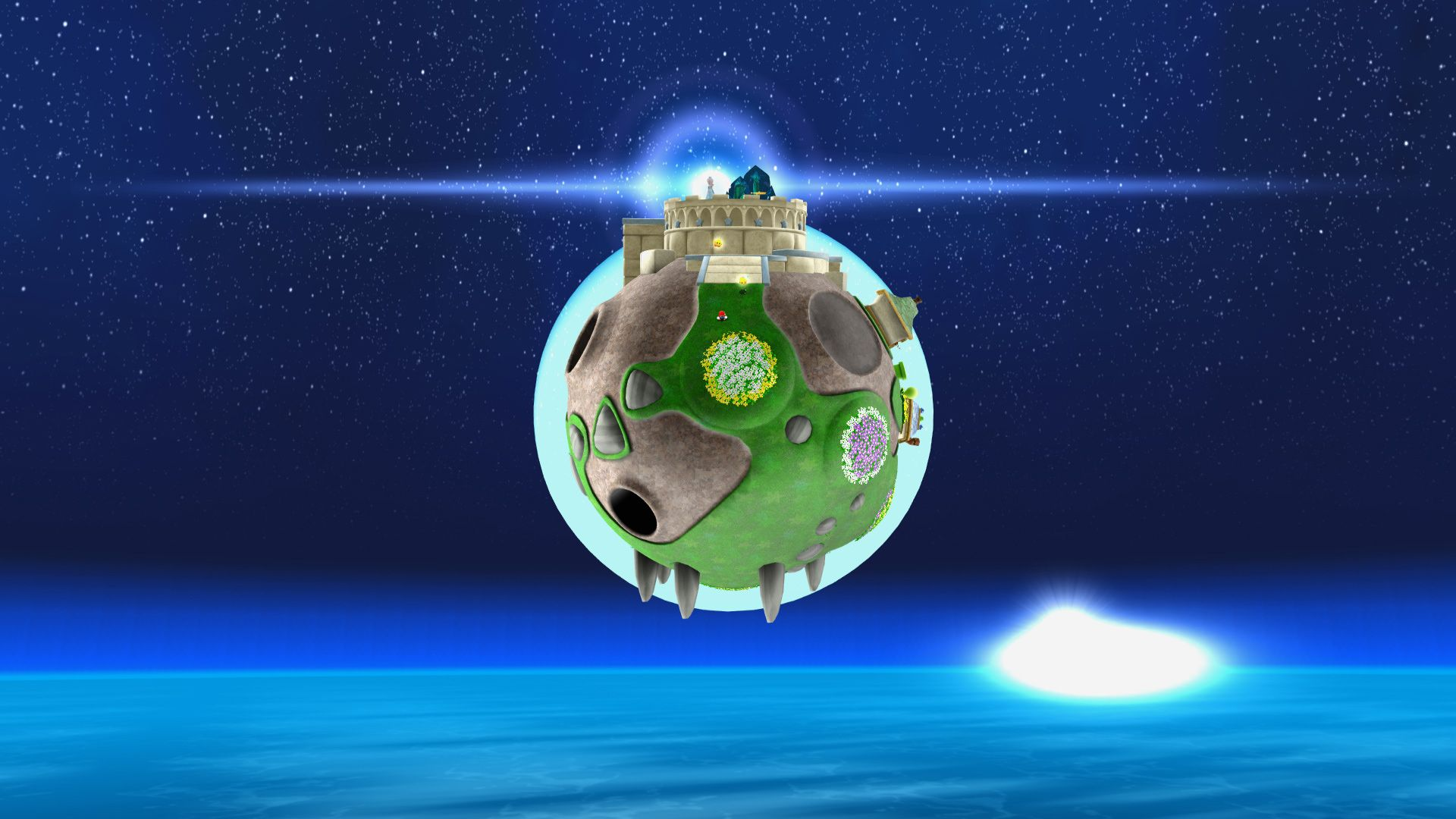 Images For > Super Mario Galaxy Space