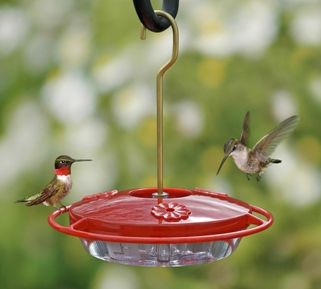 Hummzinger Mini Smaller Capacity Is Ideal For Using Several Feeders For Territorial Hummers Who Do Humming Bird Feeders Oriole Bird Feeders Diy Bird Feeder