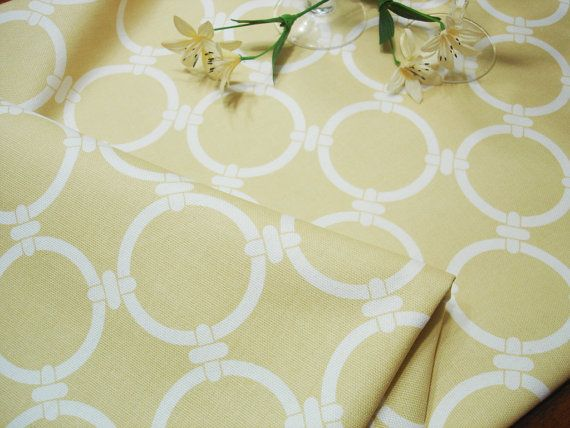 Yellow  Table Runner  Wedding  13 X 52 Table Cloth  by ThePillowCo, $19.50