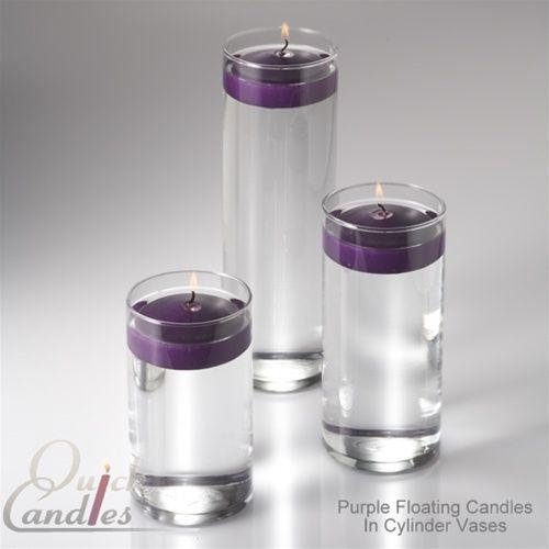 Richland Floating Candles Eastland Cylinder Holders Set Of 36