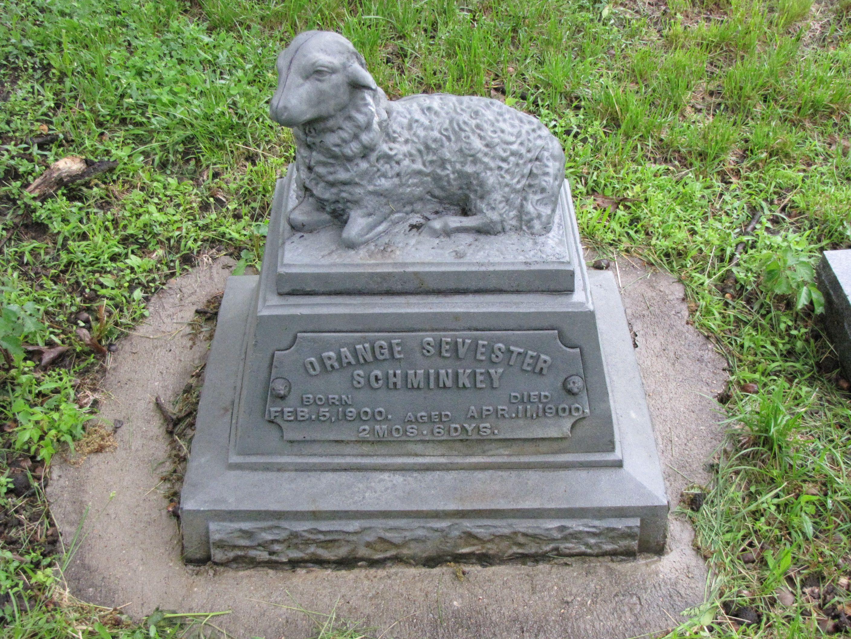 lamb gravestones