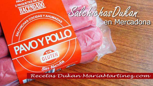 Salchichas de Pollo y Pavo aptas Dukan en Mercadona {solo