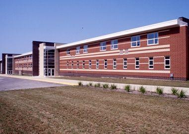East Haven High School, exterior (01) (McHenry High School)