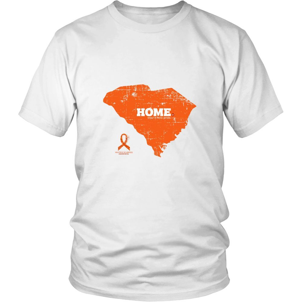 South Carolina - Multiple Sclerosis Awareness Home Tee