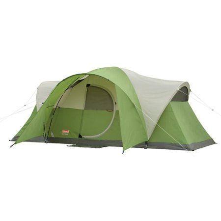 127 19 Coleman Montana 8 Tent 1 Room No Divider Electrical Access Port 1 Year Manufacturer S Warranty 16 Family Tent Camping Coleman Tent 8 Person Tent