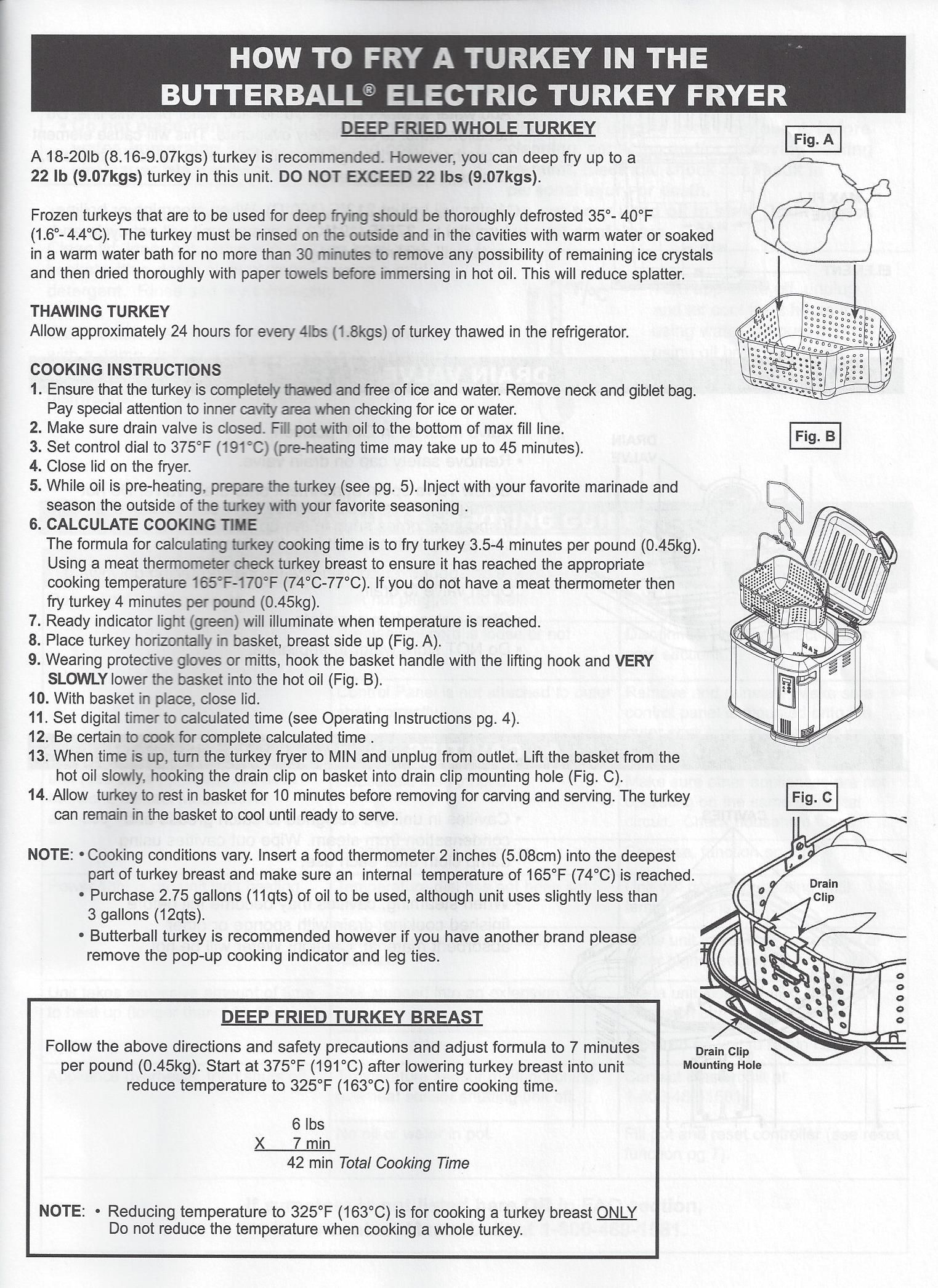 butterball electric turkey fryer how to cook a turkey turkey rh pinterest com butterball deep fryer instructions butterball xl deep fryer manual