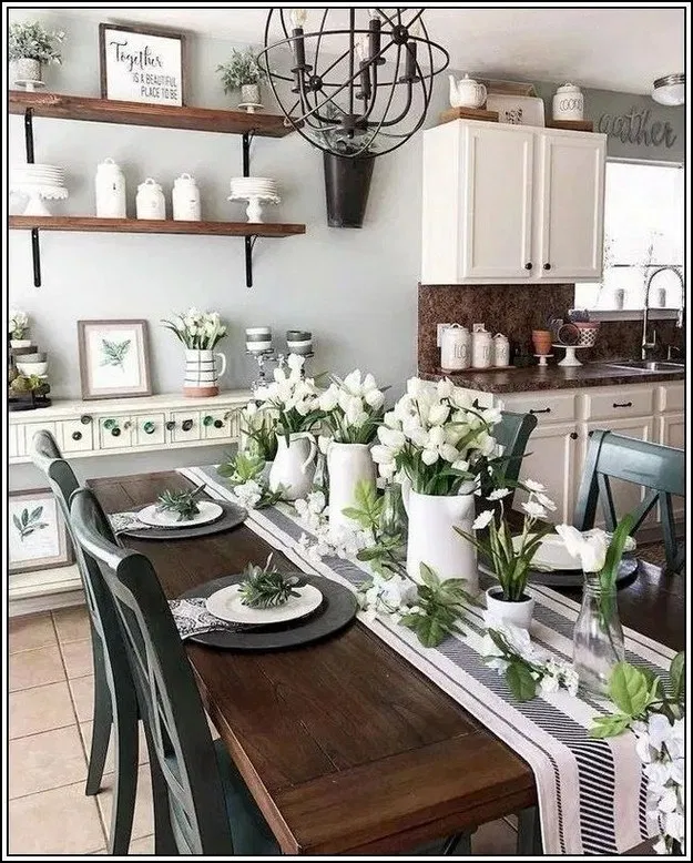 25 Awesome Traditional Dining Design Ideas: 123 Awesome Dining Room Ideas And Wall Decor -page 25