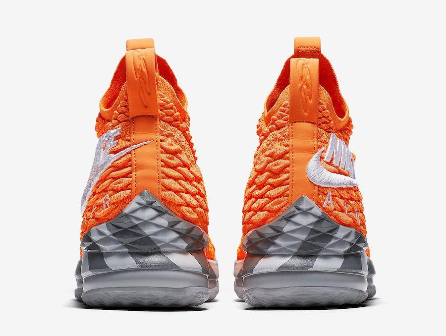 3311a03c3ef Nike LeBron 15 Orange Box AR5125-800
