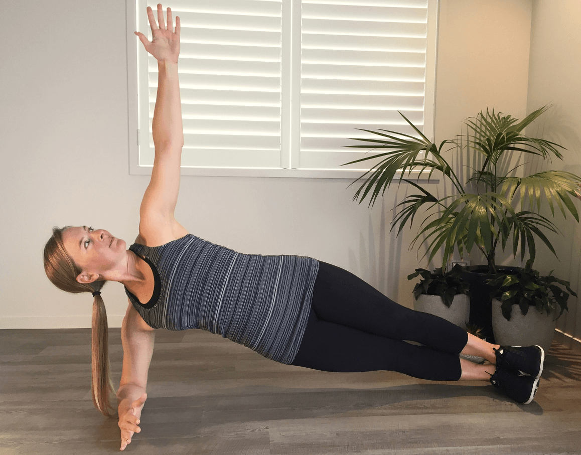 Get Flat Abs With This Yoga Inspired Workout
