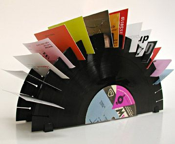 This is a business card holder made from repurposed vinyl records this is a business card holder made from repurposed vinyl records the idea is from colourmoves Image collections