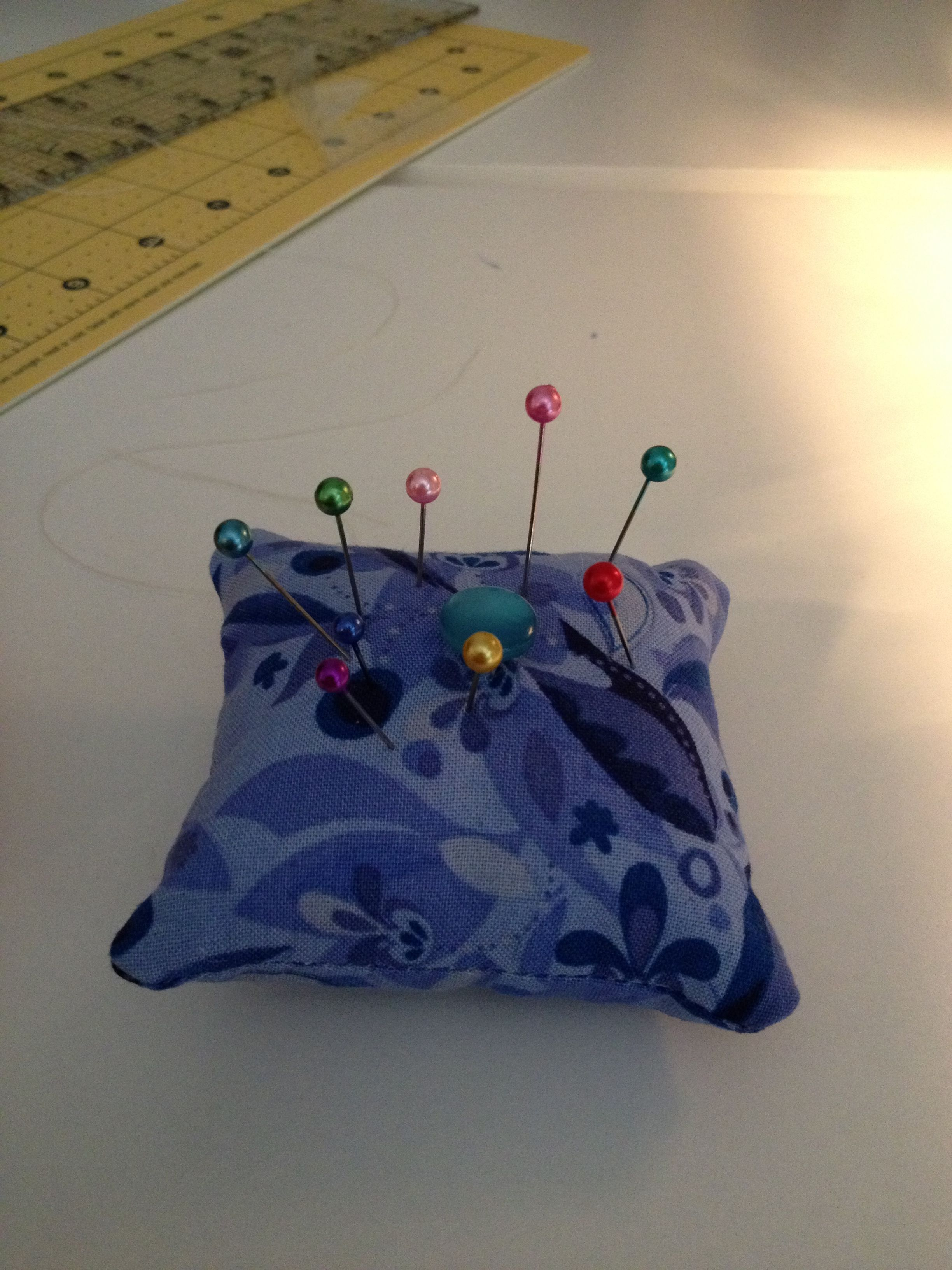 Pincushion. Beginners sewing