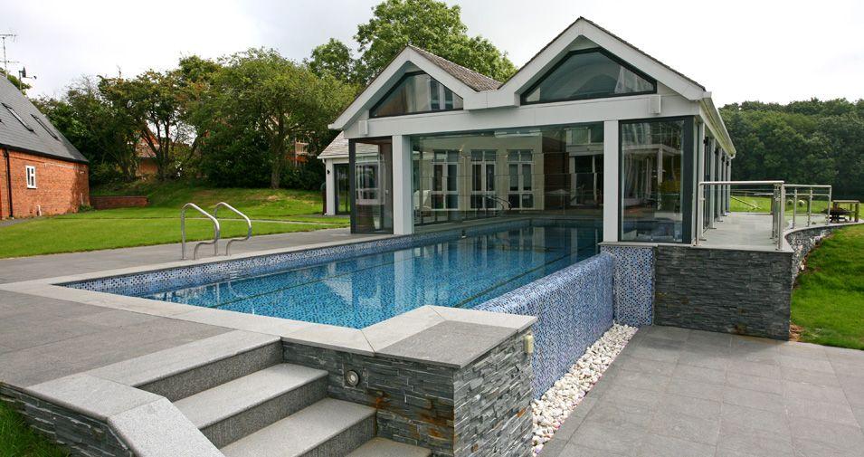 Delightful Domestic Swimming Pool