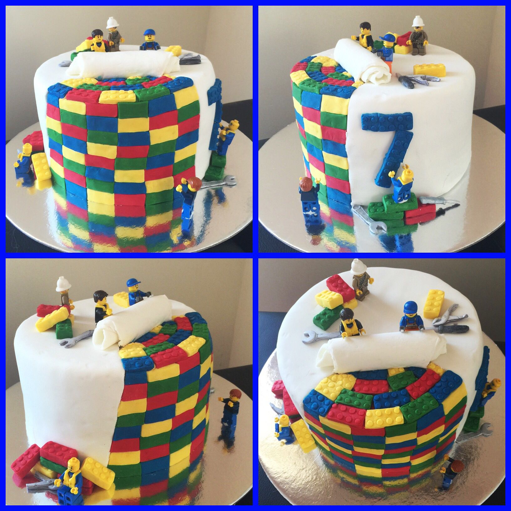 Fantastic Birthday Cake For 7 Year Old Boy The Cake Boutique Funny Birthday Cards Online Hetedamsfinfo
