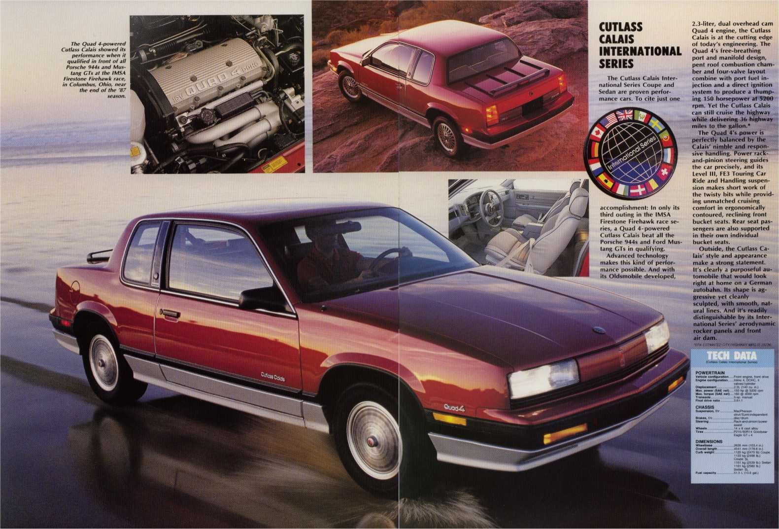 1988 Oldsmobile Cutlass Calais International Cool Car Pictures