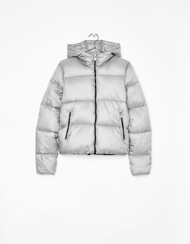 9366301743e Puffer jacket with hood ekkor: 2019 | Bershka/Stradi/Tally/New ...