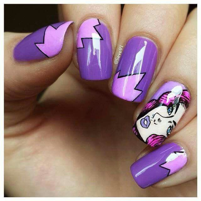 Creds to Nail Art Journal on Facebook | *A. Fun For Finger-nails ...