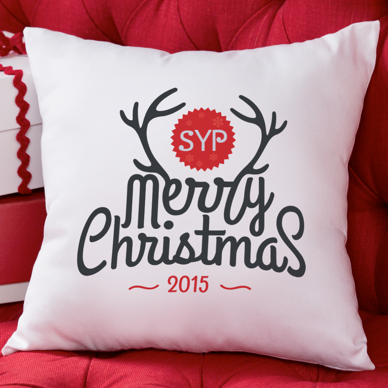 Personalized Pillow Cushion Covers - Monogram Online