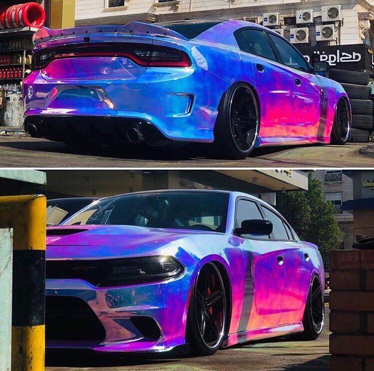 Mopar Madness On Instagram Rainbow Road Owner Alibugami Mopar Srt Madness Mopar Dream Cars Srt