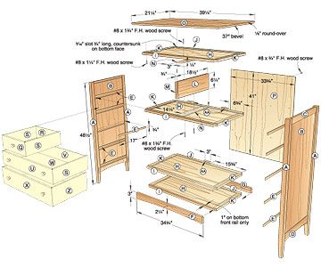 Plans For Dresser Free Woodworking And Projects Information Building Bedroom Furniture Sideboard