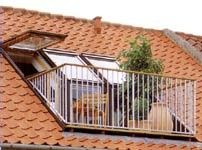 velux balcony and terrace window systems loft conversion. Black Bedroom Furniture Sets. Home Design Ideas