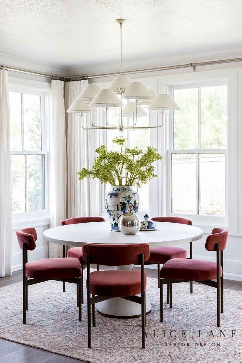 Astonishing Red Velvet Dining Chairs Design By Alice Lane Interior Uwap Interior Chair Design Uwaporg