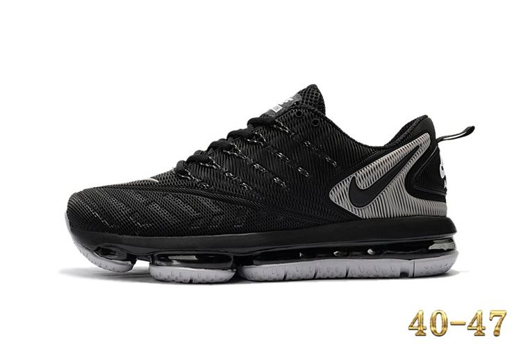 finest selection 4a9b2 582fd Nike 2019 KPU AIR MAX Sports Shoes Men Black Grey 40-47