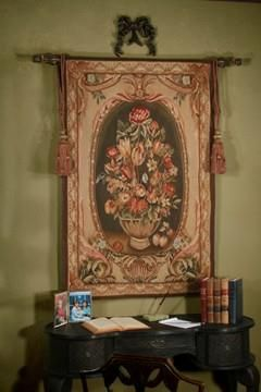 Bay Floral Handwoven Tapestry. H1Bay Floral Handwoven Tapestry_h1Bay Floral  Handwoven Tapestry.Give Your Home