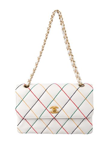 4f4d51e19196a2 Must Have: Chanel Surpique Multicolor quilt Flap Bag. | HANDBAGS ...