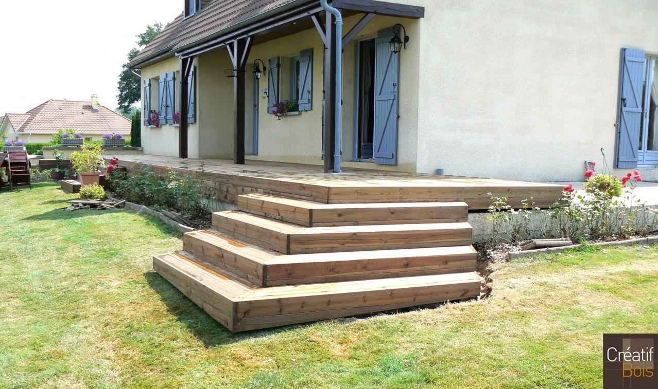creuse 23 st priest la plaine terrasse bois et son. Black Bedroom Furniture Sets. Home Design Ideas