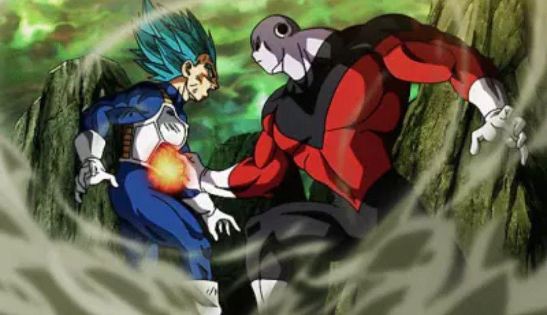 Vegeta Vs Jiren Dragon Ball Super Dragon Ball Dragon Ball Super Manga