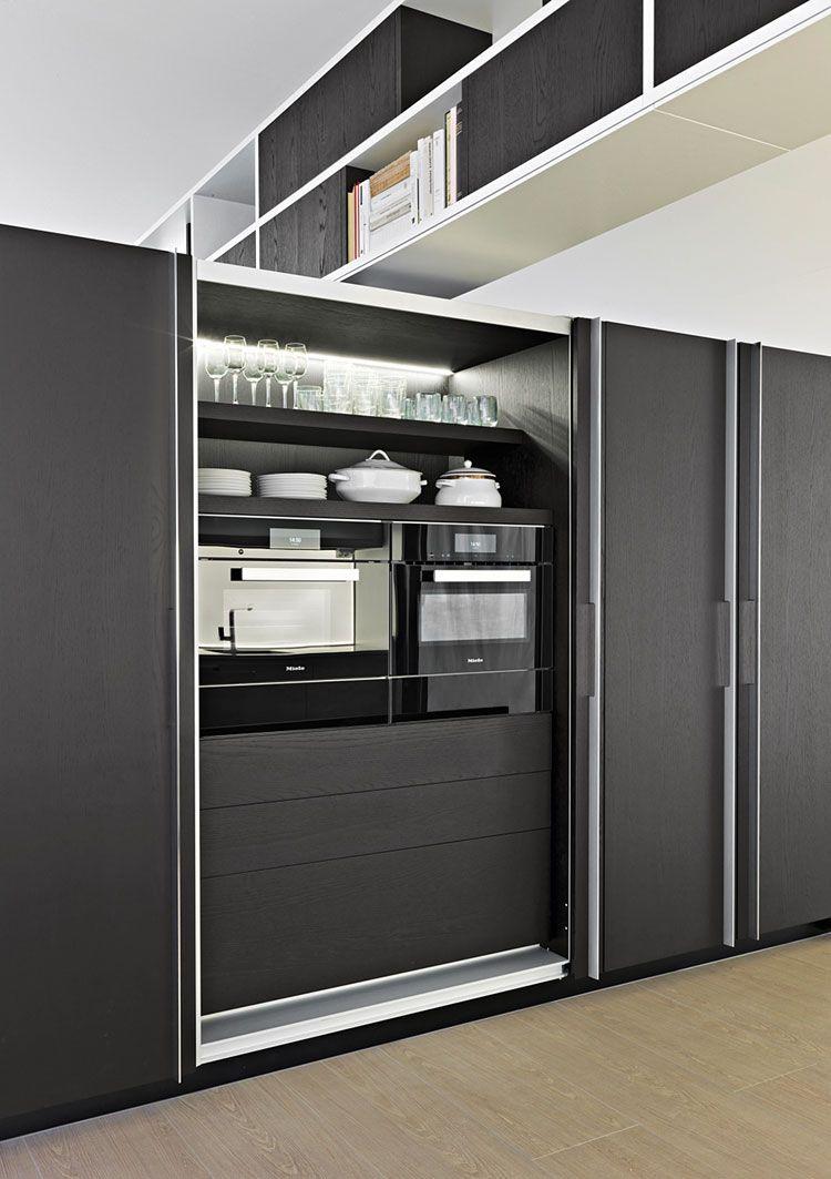 Cucina a scomparsa Dada 06 | Cucine | Pinterest | Cucine, Armadi ...