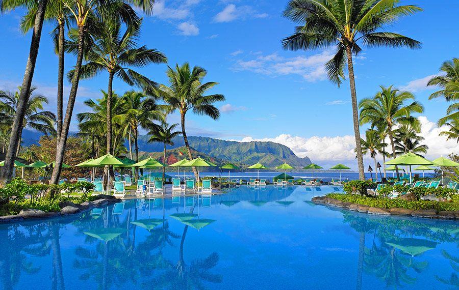 Na ilha de Kauai, no Hawai, o ponto alto do St Regis é a paisagem ao redor. Quem vai diz que as fotos não fazem justiça à beleza do lugar.