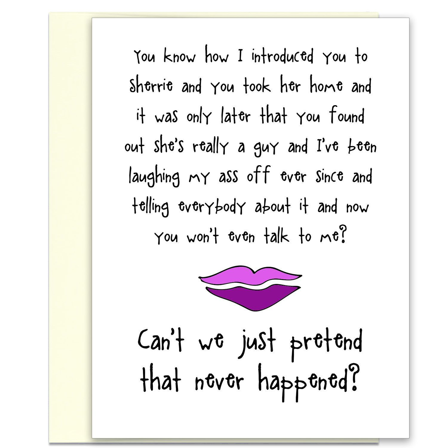 What are friends for funny greeting card for friends products funny greeting card for friends kristyandbryce Image collections