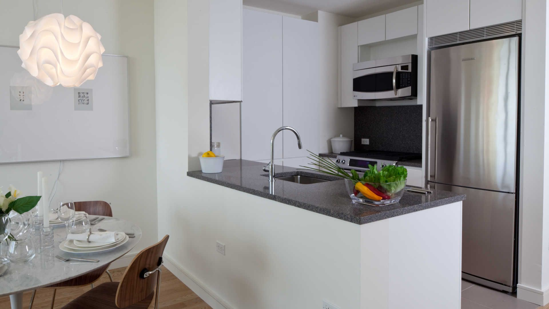 Beatrice Apartments - Kitchen | Apartment kitchen, Kitchen ...