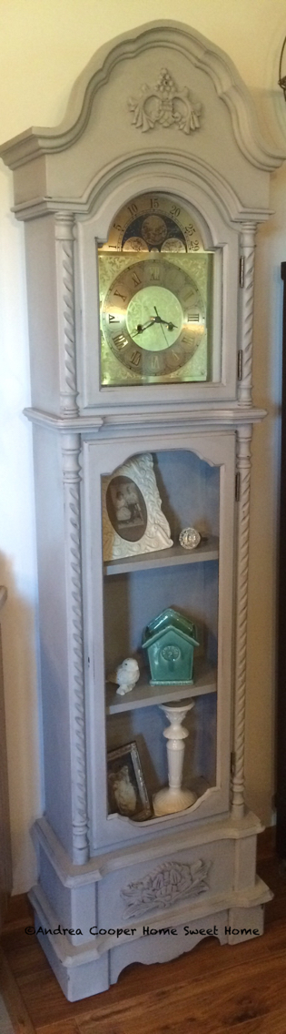 annie sloan paris grey grandfather clock redo on fantastic repurposed furniture projects ideas in time for father s day id=53701