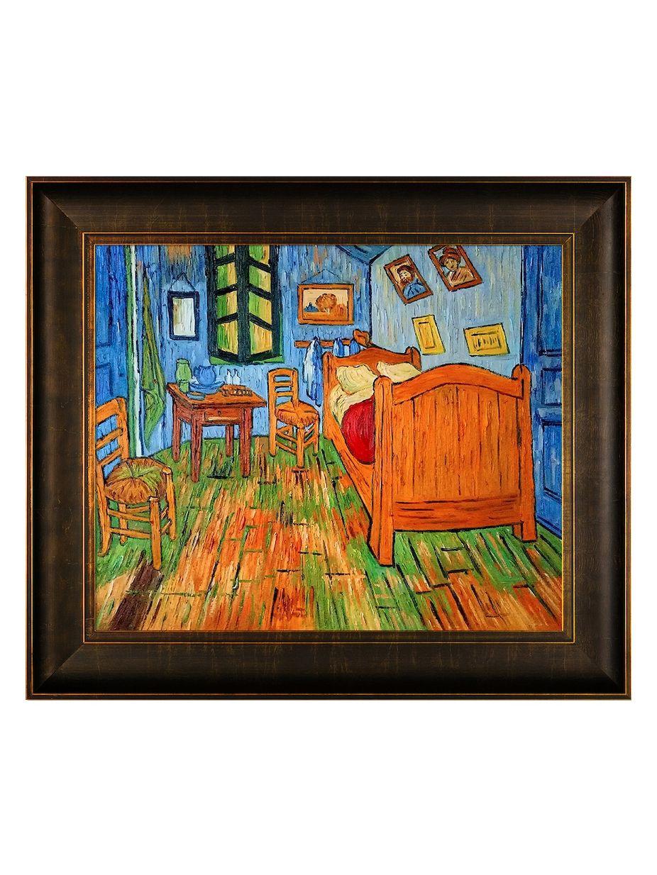 Overstock Art Bedroom at Arles by Vincent Van Gogh (Canvas