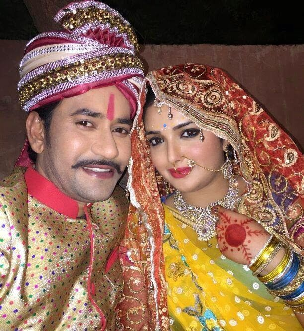Bhojpuri hot actress Amrapali Dubey, Dinesh Lal Yadav 'Nirahua' New Upcoming movie Raja Babu wiki, Shooting, release date Poster, pics news info